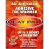 TechNiche Heat Pax Air Activated toe warmers (40 pairs)  5570-HP